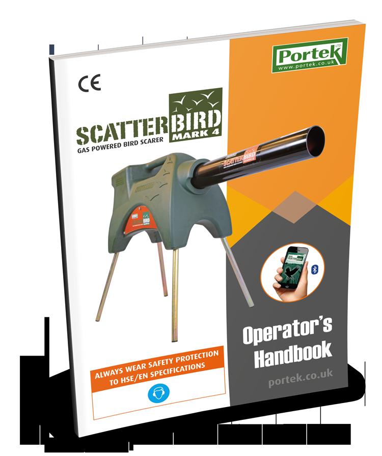 portek scatterbird mark4 mk4 operators manual